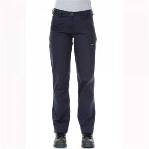 WORKIT Ladies Lightweight Cotton Drill Navy Cargo Pants