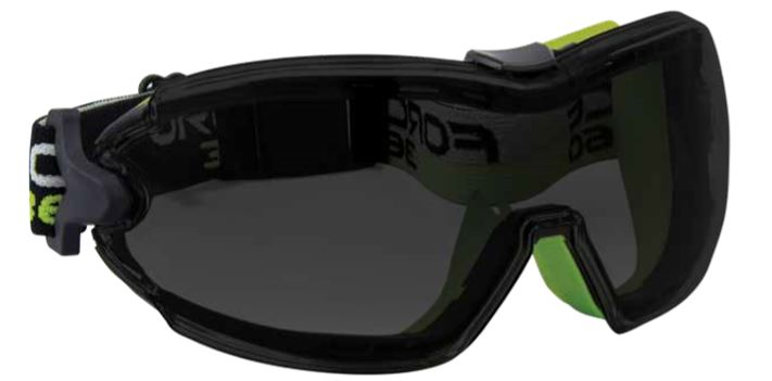 Safety goggles Smoke fpr853