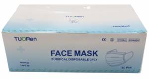 Face Mask Surgical Disposable 3Ply
