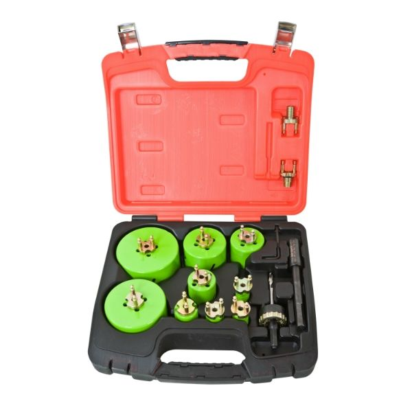 Holesaw Re-Load Heavy Duty Quick Change Master Electricians Set 21Pc