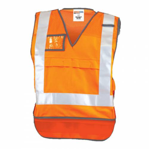 NSW Rail Vest Perforated Reflective Tape