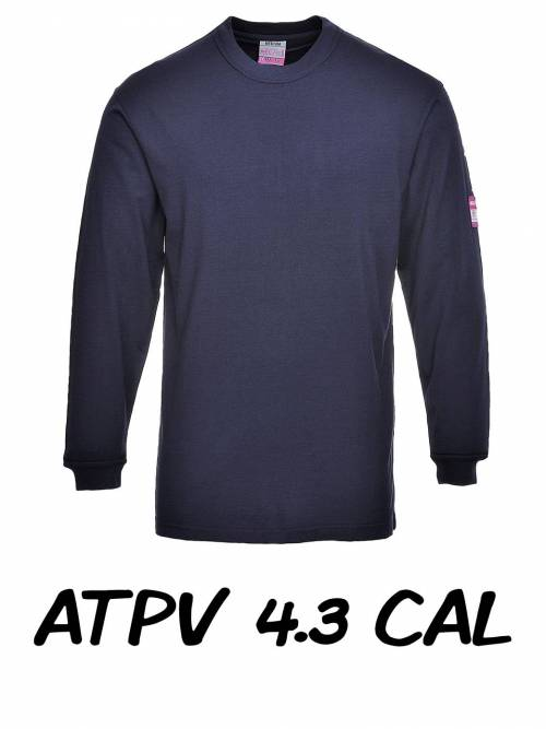 Flame Resistant Anti-Static Long Sleeve T-Shirt