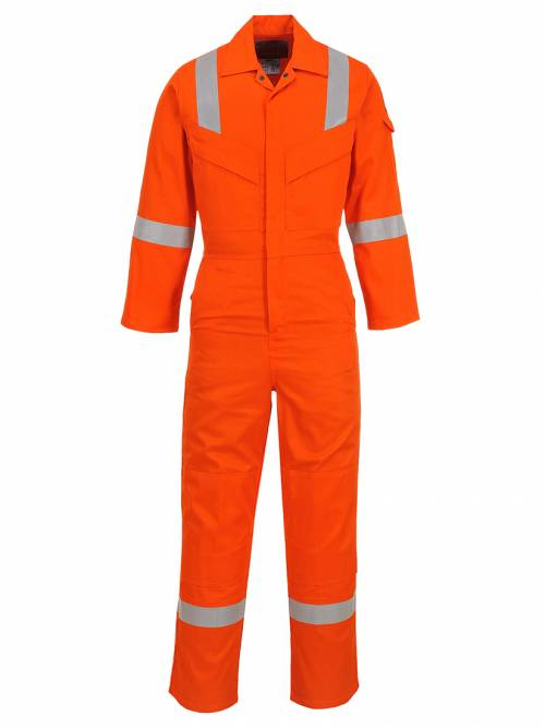 Flame Resistant Super Light Weight Anti-Static Coverall 210g